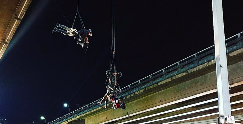Directing a Stunt Sequence for Arrow
