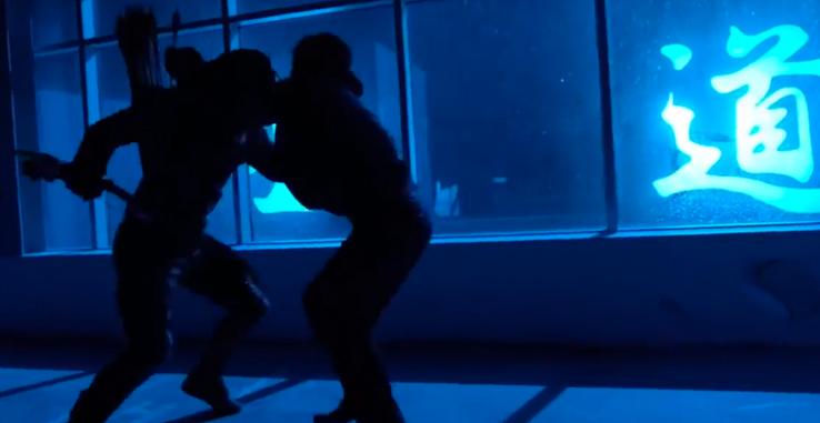 Blue Light Fight
