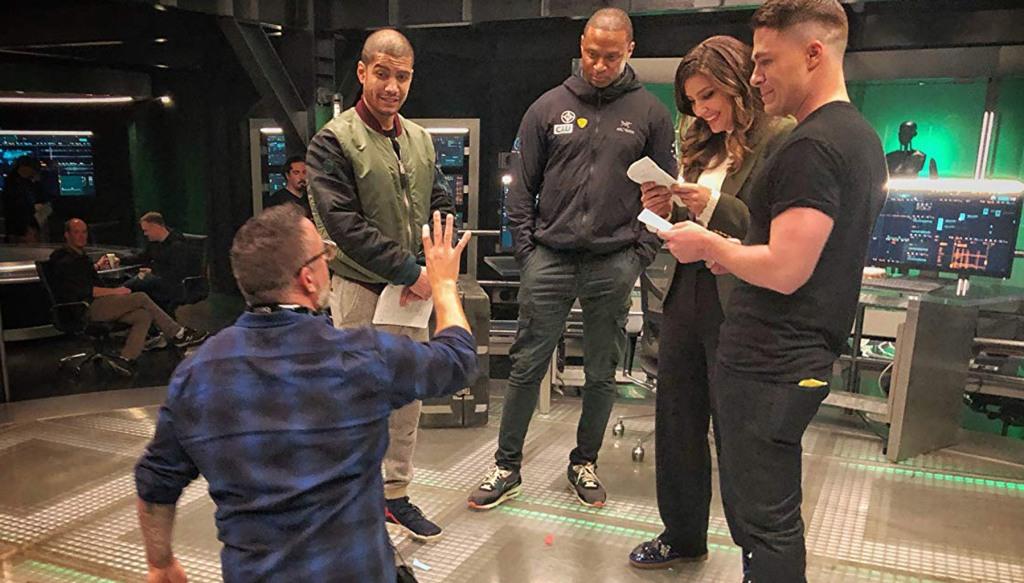 James Bamford Directs the Arrow Cast