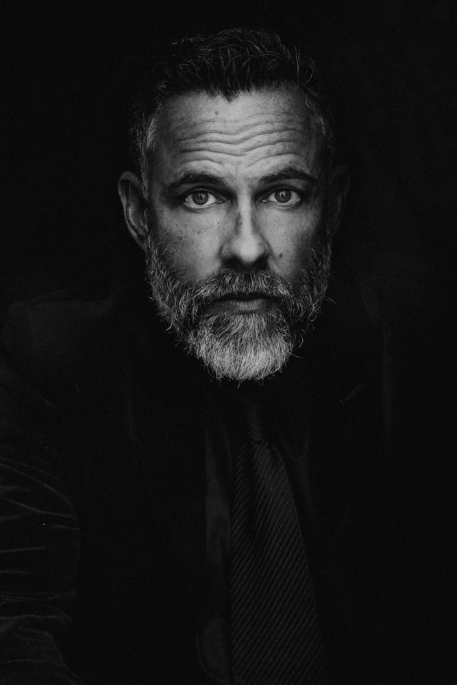 Black and White Photo of James Bamford Photographed by Karolina Turek